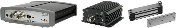 Установка видеосервера и электромагнитного замка