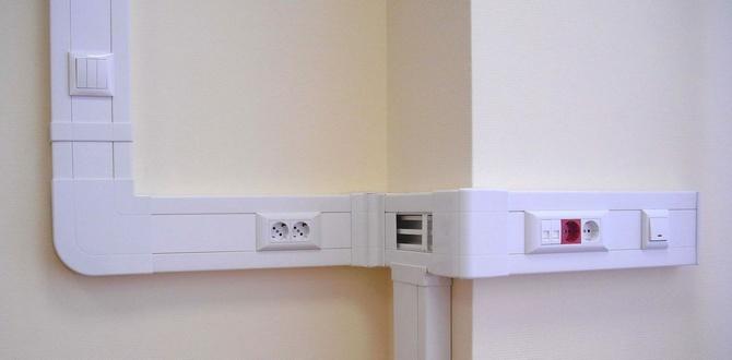 Монтаж электропроводки в кабель-канале